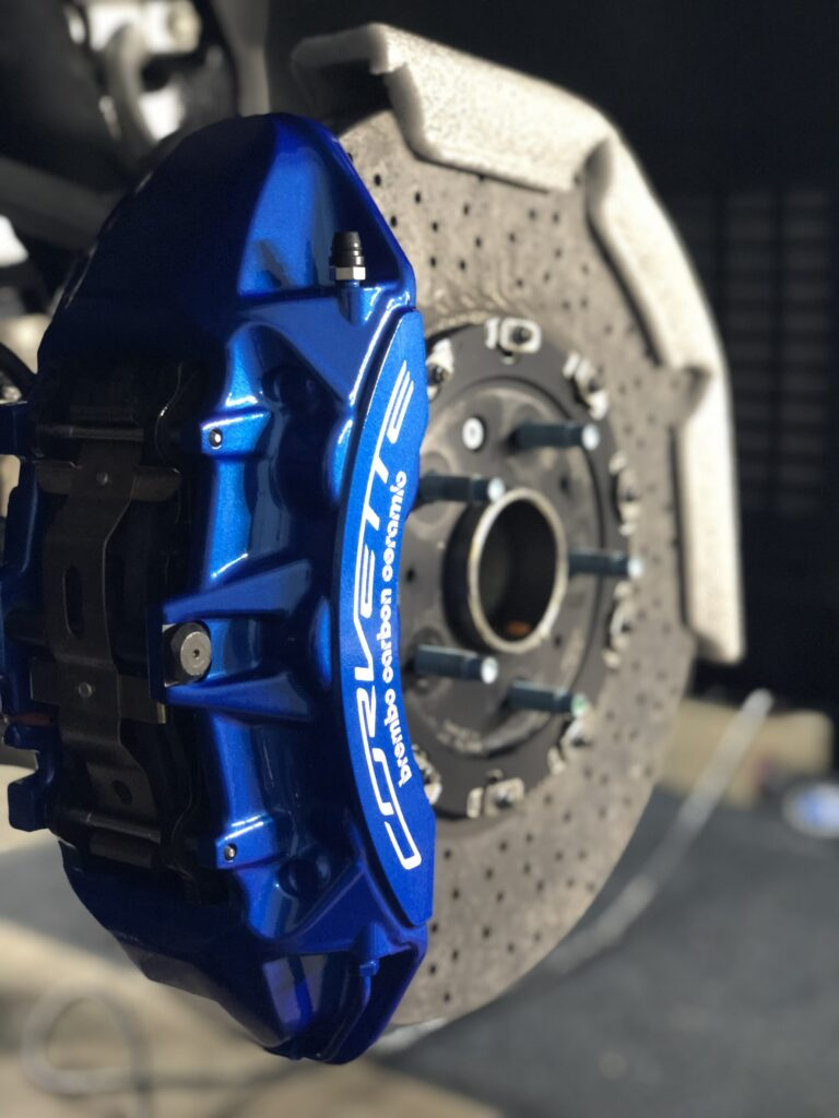 Faynlab wheel and caliper ceramic coating service